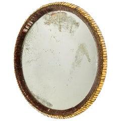 Line Vautrin, Oval Mirror, circa 1955