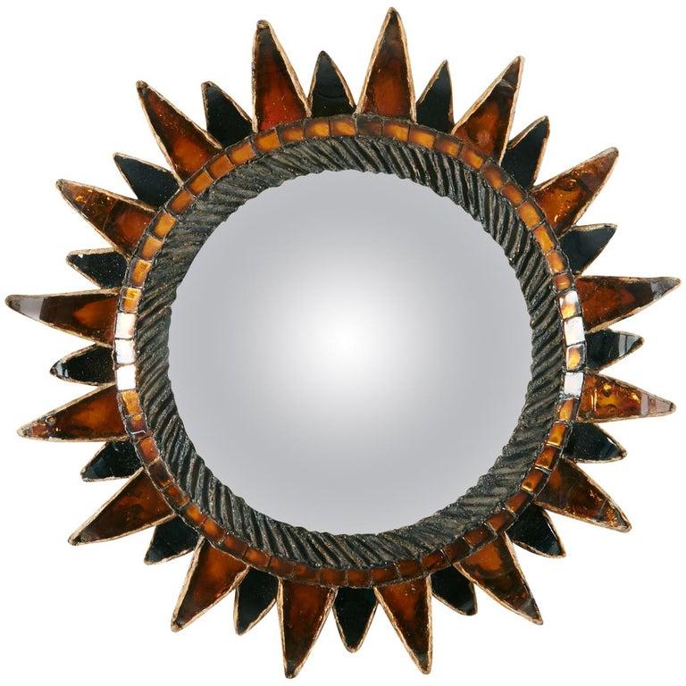 Line Vautrin, Sun Mirror No.2 'Soleil à pointes N°2' For Sale