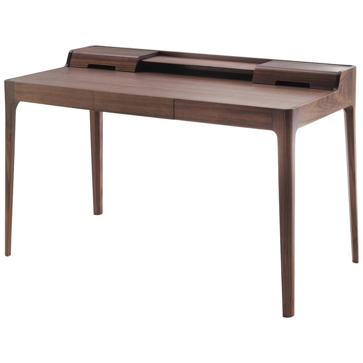 Linea Desk in Solid Walnut