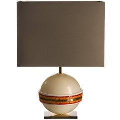 Linea Orange Table Lamp