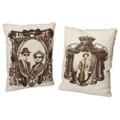 Linen Pillows with Jazz Musicians