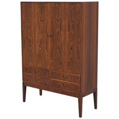 Linen-Press in Rosewood