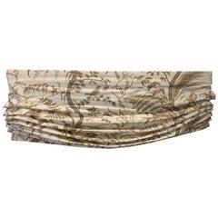 Linen  Roman Shade, Valance, Sheer and Linen Curtain, Schumacher