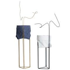 Linha Planter Pedestal and Cachepot 'Plant Stand'