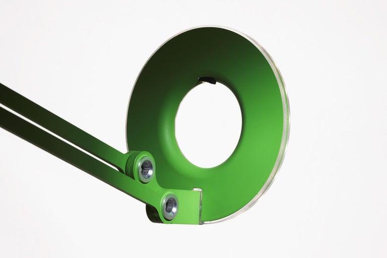 American Link Medium Floor Lamp in Green by Pablo Designs For Sale