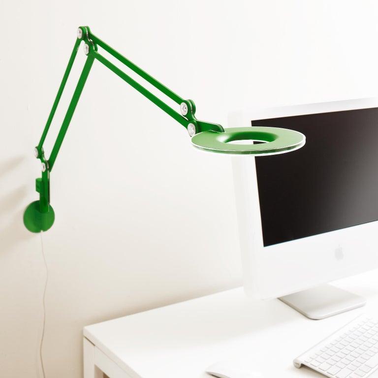 Link Medium Wall Light in Green by Pablo Designs 3