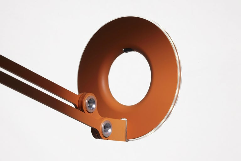 Link Medium Wall Light in Orange by Pablo Designs 5