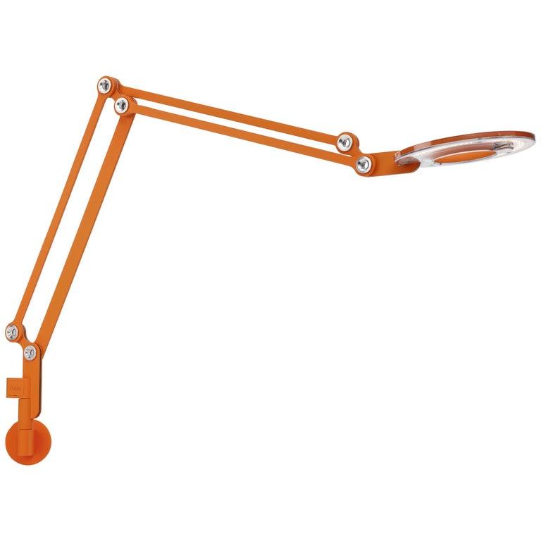 Link Medium Wall Light in Orange by Pablo Designs 1