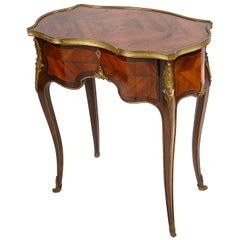 Linke Style French Side Table, 19th Century