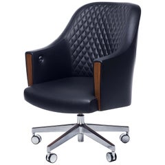 LINLEY Riviera Quilted Desk Chair
