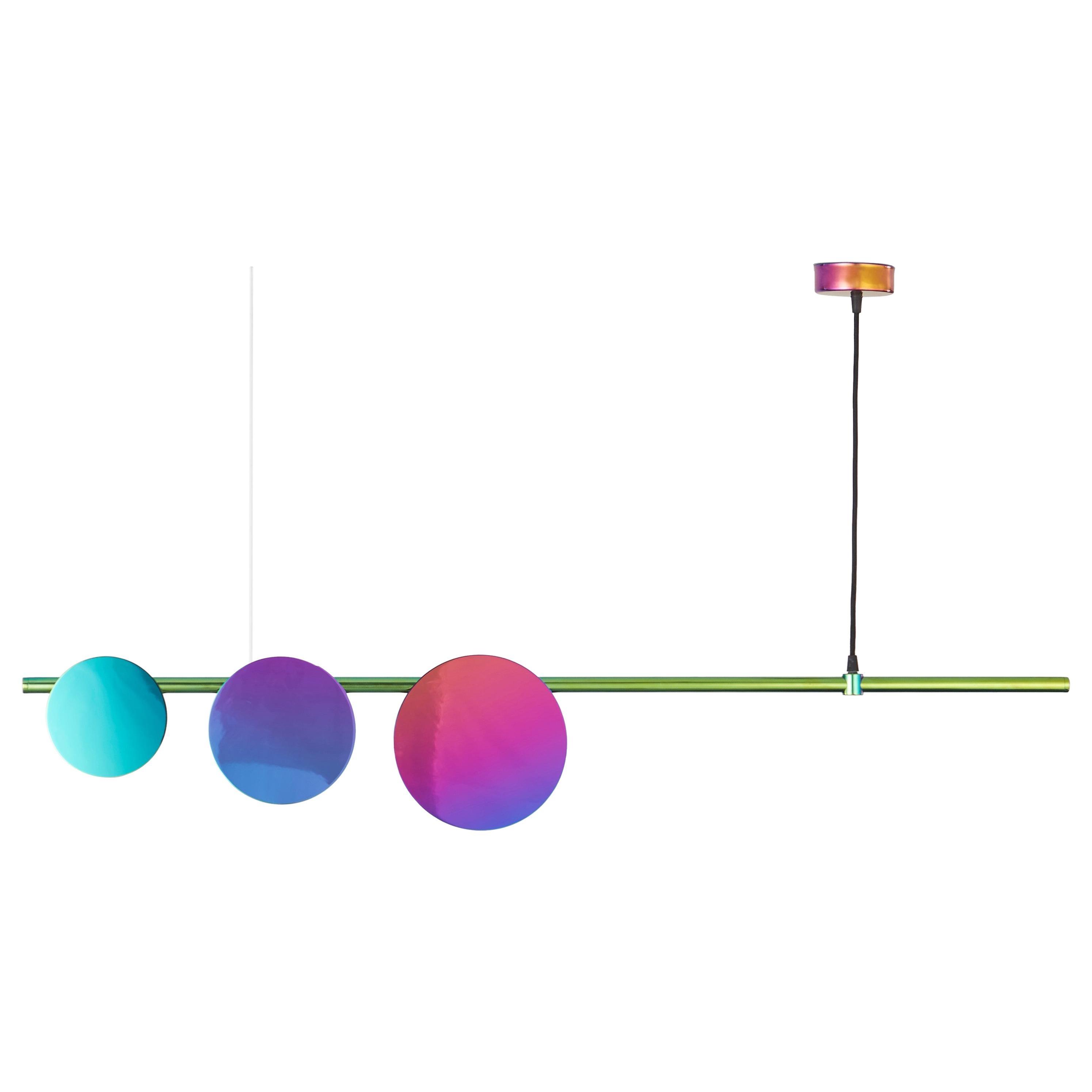 Lino 3 Chandlier Rainbow by Saumil Suchak