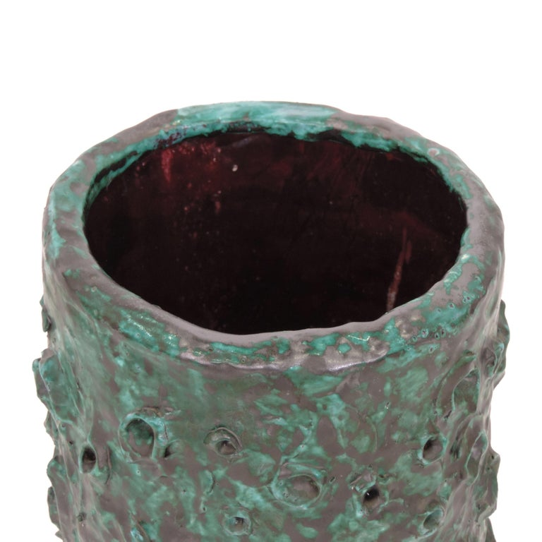 Lino Bersani Unique Ceramic Umbrella Stand, Italy, 1950s In Good Condition For Sale In Milan, IT