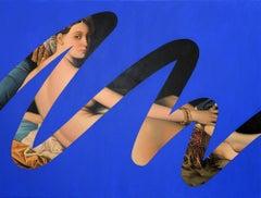 Fake Abstract (Blue on Ingres)