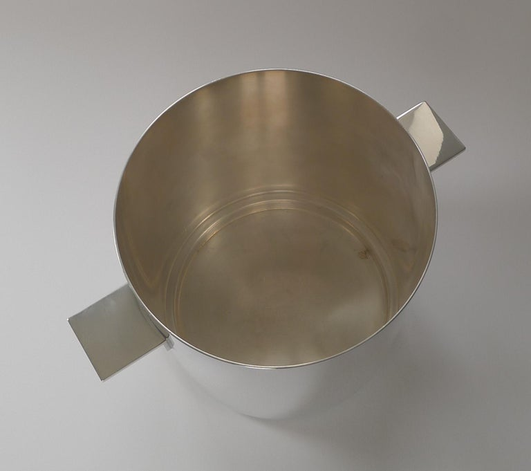 Lino Sabatinni For Christofle, Paris - Champagne Bucket / Wine Cooler In Good Condition For Sale In London, GB
