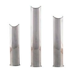 Lino Sabattini, Italy, Three Modernist Vases