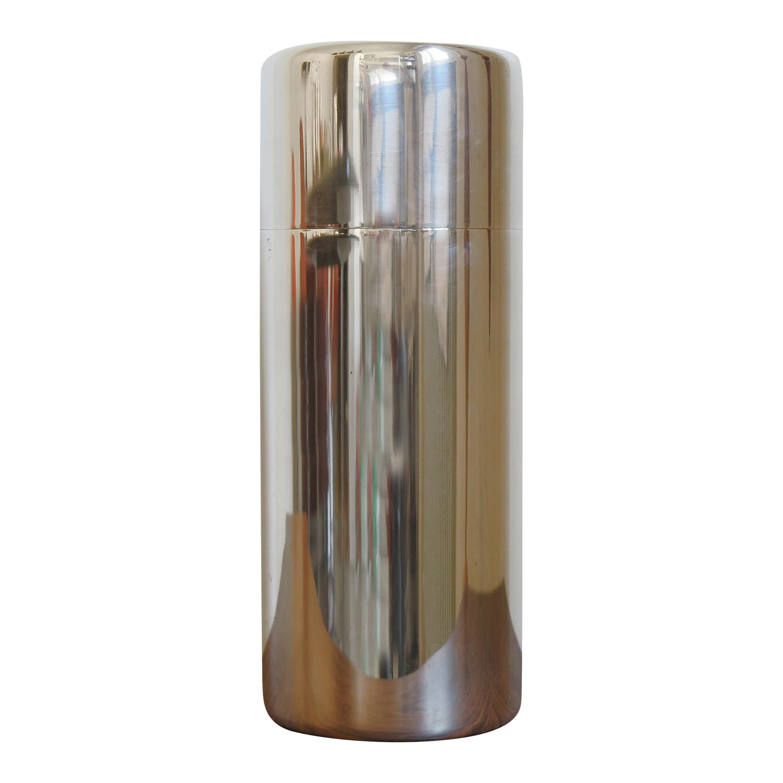 Lino Sabattini Made in Italy Decorative Box in Silver Metal, 1960s