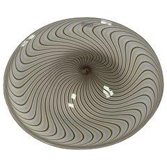 Italian Murano Glass Dish Model Samarcanda by Lino Tagliapietra F3 International