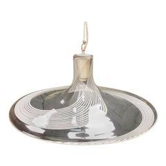 Lino Tagliapietra Space Age Murano Glass Chandelier for La Murrina, circa 1970