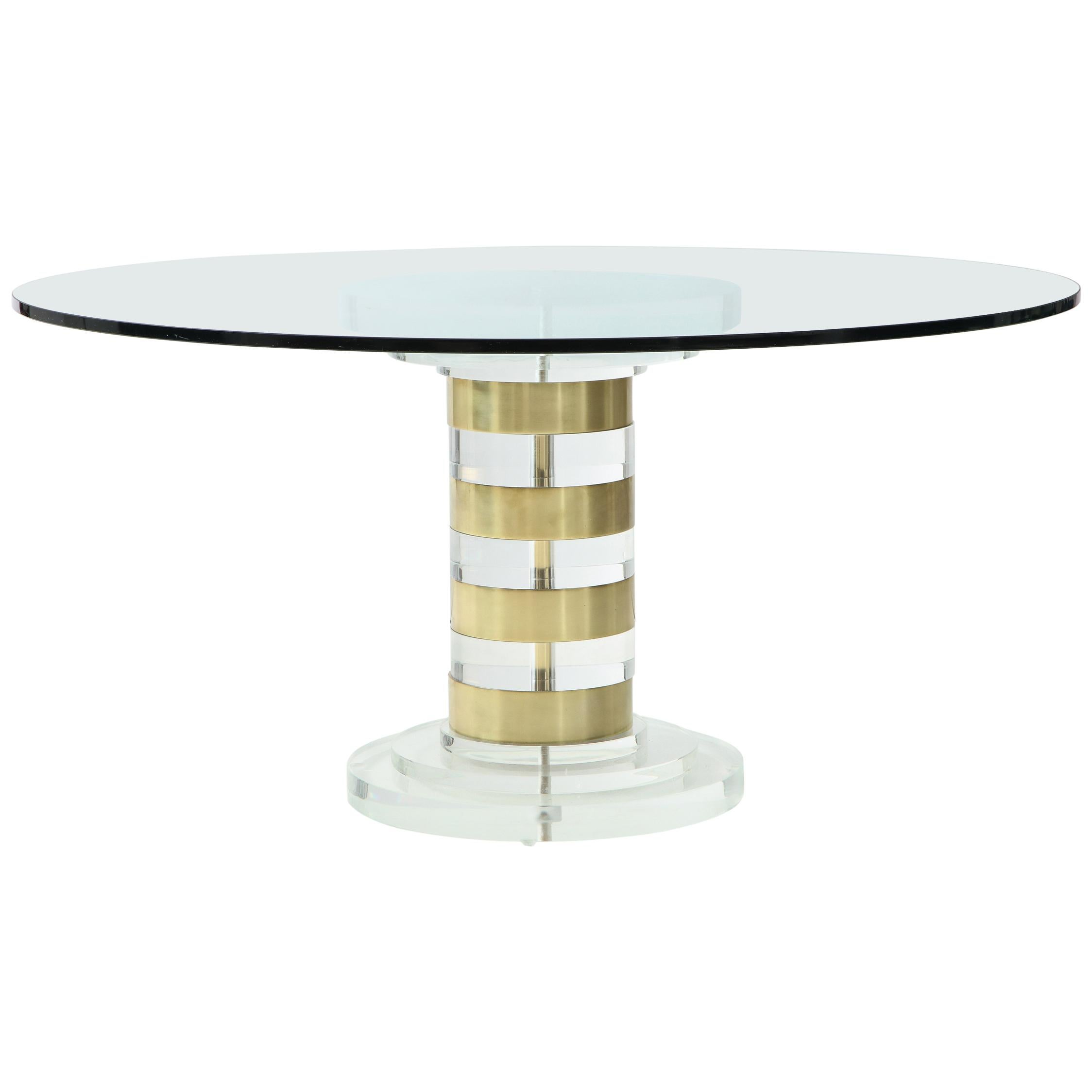 Lion in Frost Dining Table / Side Table