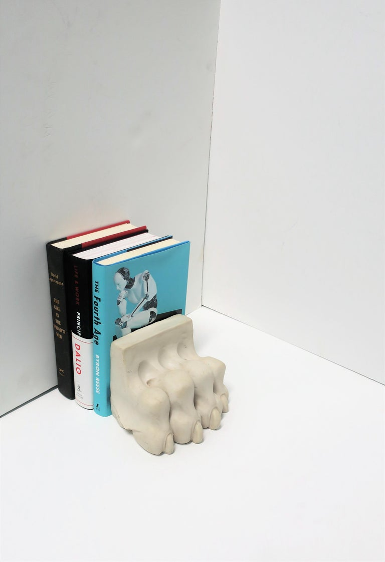 Lion or Tiger Cat Paw Sculpture or Bookend For Sale 1