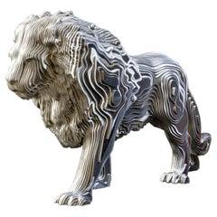 Lion Polished Sculpture