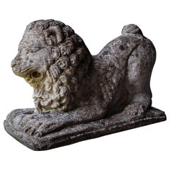 Lion Statues in Repose