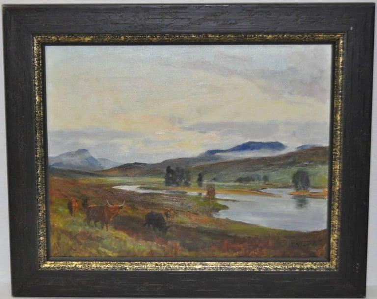 Glenmoriston - Scottish Highlands - Painting by Lionel Edwards