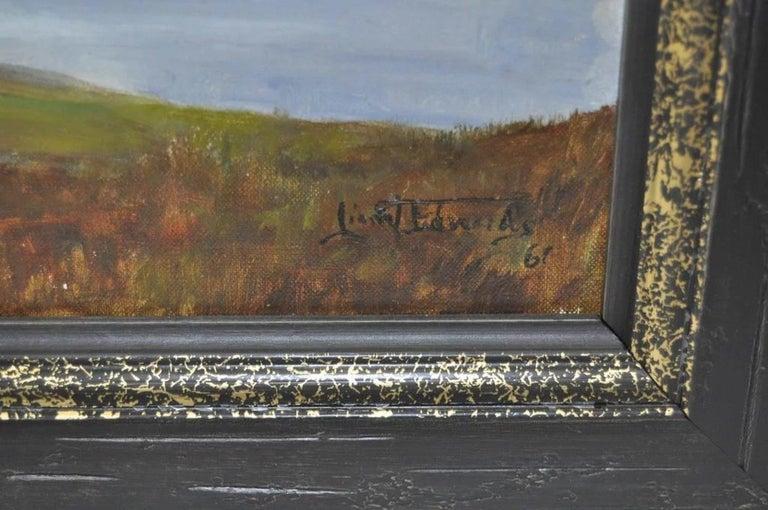 Glenmoriston - Scottish Highlands - Impressionist Painting by Lionel Edwards