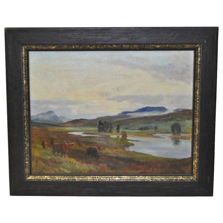 Lionel Edwards Animal Painting - Glenmoriston - Scottish Highlands