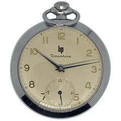 """LIP """"Dauphine"""" Pocket Watch"""
