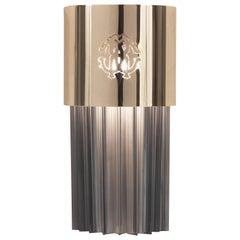 Lipari Applique in Metal Structure and Glass by Roberto Cavalli Home Interiors