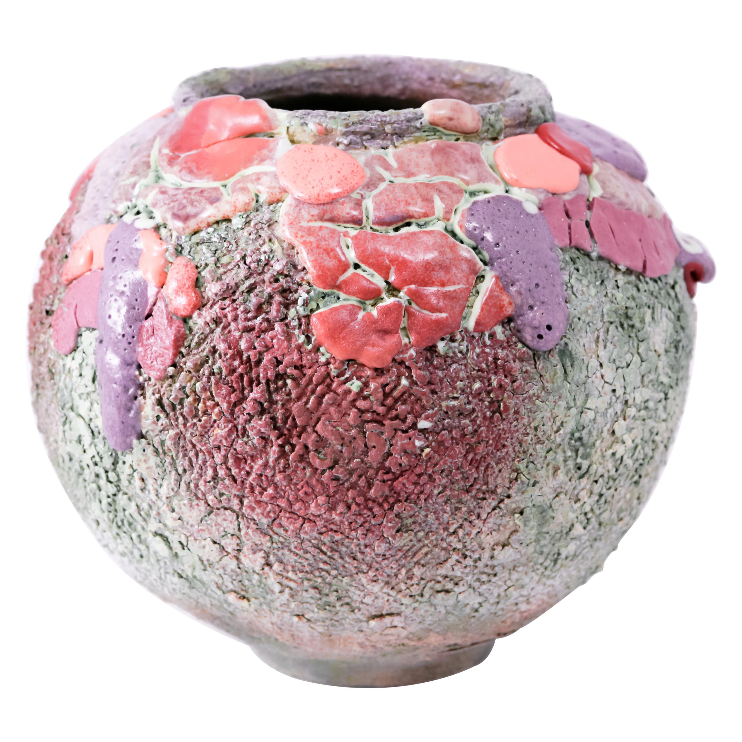 Lipstick Moon Vase by Arina Antonova
