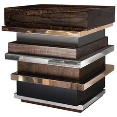 """Lippenstift Seite Tabelle """"Bronze, Edelstahl, Walnuss, Zirciote, Lack"""" Hudson"""