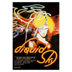 Liquid Sky 1982 US One Sheet Film Poster