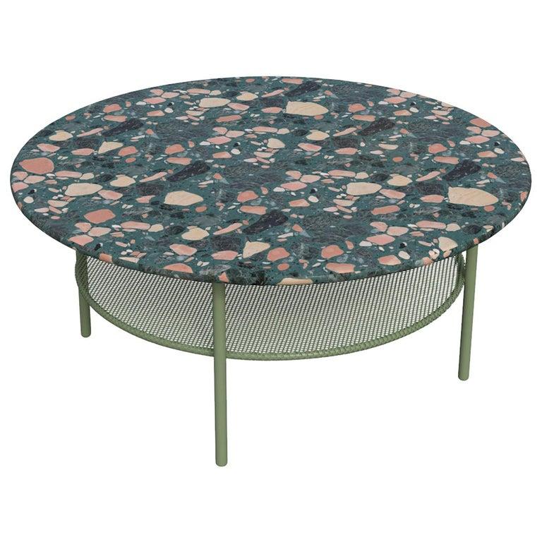 Lira Coffee Table with Terrazzo, Contemporary Mexican Design For Sale