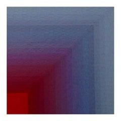 Volume 0914.40.03, Lisa Bartleson, 2020, drafting film/acrylic paint/resin