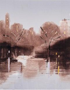 """Lisa Breslow """"Central Park Nocturne 4"""""""