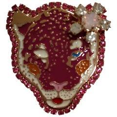 Lisa C. Tiger Brooch pin