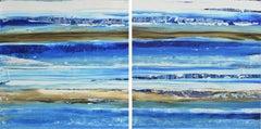 Aqua 11, Abstract Painting