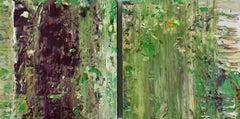 Aubergine + Green Haze