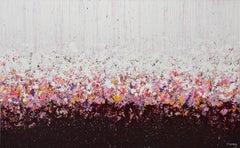 Cherry Splash, Abstract Painting