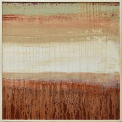 Lava Mist, Painting, Acrylic on Wood Panel