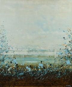 Marshy Lake, Painting, Acrylic on Canvas