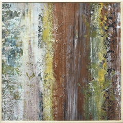 Mineral Vein 2, Painting, Acrylic on Wood Panel