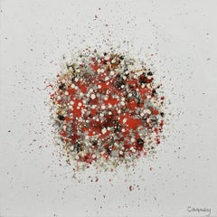 Petal Burst 22, Painting, Acrylic on Canvas