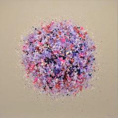 Petal Burst 31, Painting, Acrylic on Canvas