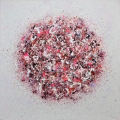 Petal Burst 33, Painting, Acrylic on Canvas