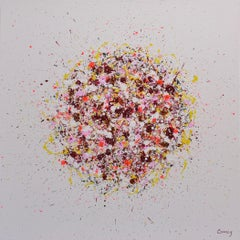 Petal Burst 39, Painting, Acrylic on Canvas