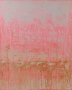 Pink Bliss, Painting, Acrylic on Canvas