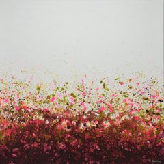 Plum Fantasy, Abstract Painting